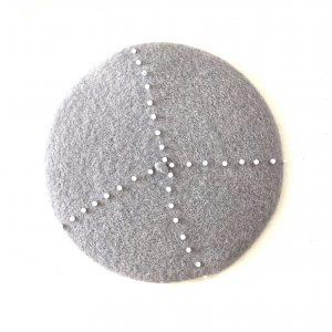 grey beret