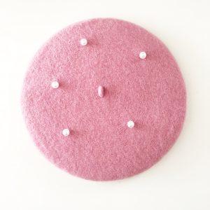 pink beret